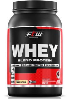 Whey Protein Blend Ftw 900g - Baunilha