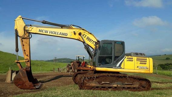 Escavadeira Hidraulica New Holland E 215 C