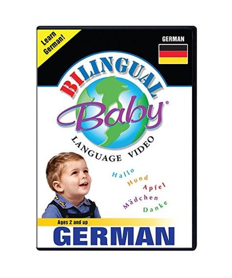 Bilingüe Del Niño Aprende Dvd Alemana Para Bebés Y Niños Peq