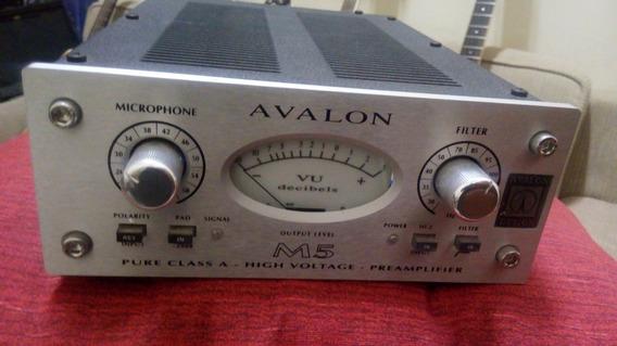 Pré-amplificador Solid State Avalon M5 C/ Fonte Original