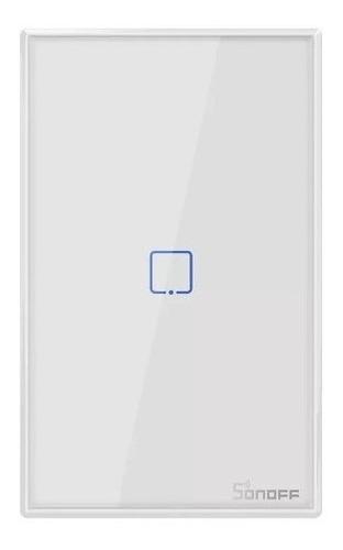 Imagen 1 de 9 de Sonoff T2 Us 1 Canal - Tecla De Pared Touch Wifi