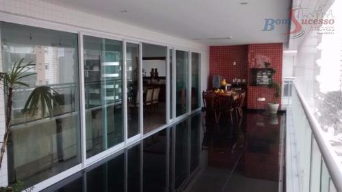 Imagem 1 de 30 de Apartamento Com 4 Dormitórios À Venda, 280 M² Por R$ 2.950.000,00 - Jardim Anália Franco - São Paulo/sp - Ap1162