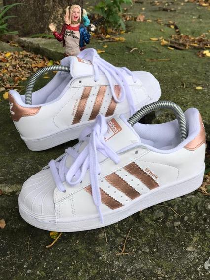 Tênis adidas Super Star Foudantion Unissex Com Cardaço Bboy
