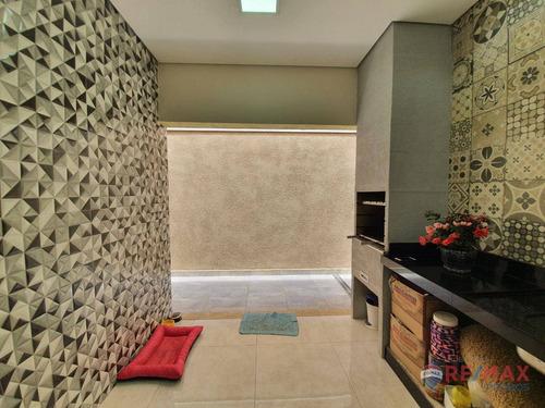 Linda Casa Com Projeto Exclusivo, 3 Dormitórios À Venda, Jardim Nova Veneza - Indaiatuba/sp - Ca1426