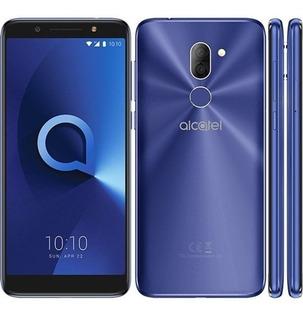 Celular Alcatel 3x Plus 4g Metal Azul 5058j-2bofus1