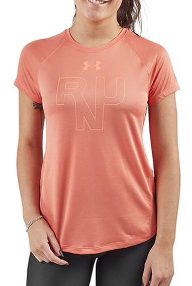 Remera Under Armour Running Ua Qualifier Run Mujer Ld