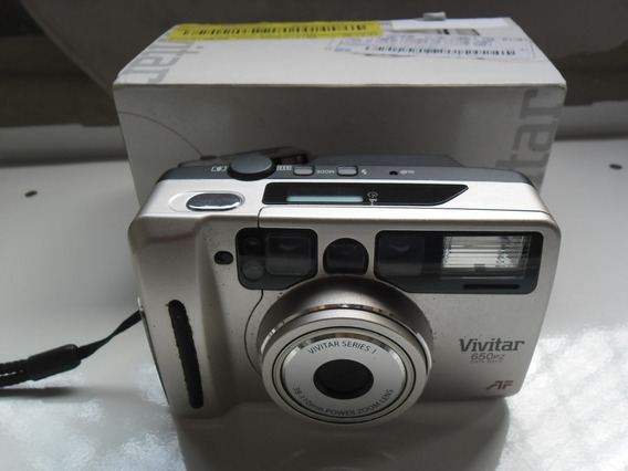 Câmera Fotográfica Vivitar 650pz Analógica Rara