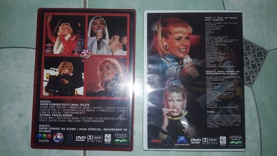 Dvds Da Xuxa Shows E Clipes