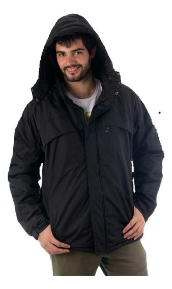 Campera De Abrigo Impermeable Hombre Hasta Talle Grande