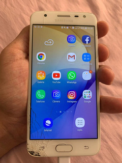 Samsung Galaxy J5 Prime 32 Gb Dourado Display Trincado