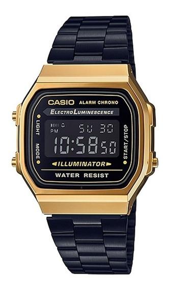 Relógio Casio Vintage Unisex A168wegb-1bdf
