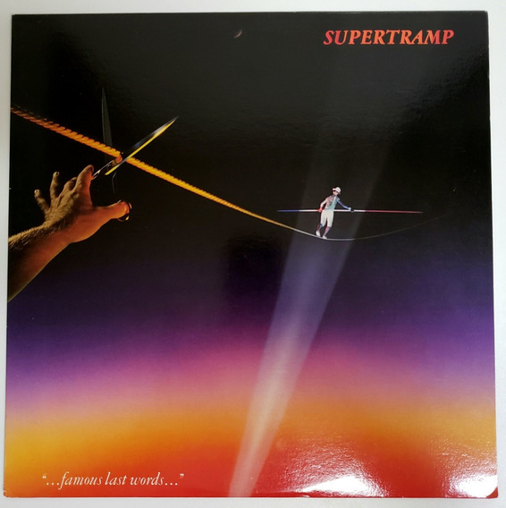 Lpvinil Supertramp Famous Last Words Sp3732 Usa82 Usado Zero