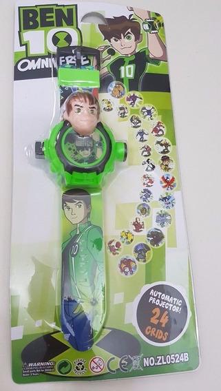 Relógio Digital Projetor Infantil Ben 10