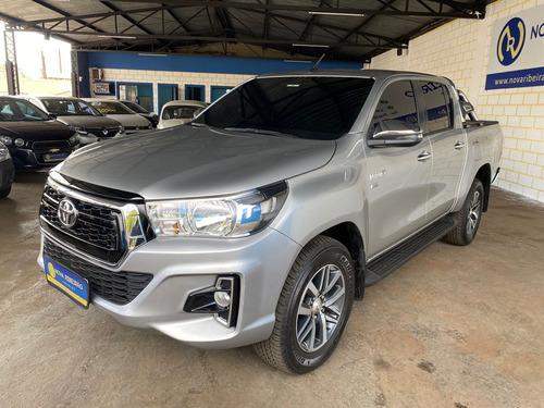 Imagem 1 de 13 de Toyota Hilux Cd Srv 2.7 Prata 2020