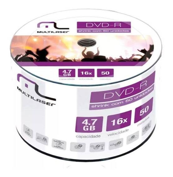 50 Midias Dvd Print Multilaser