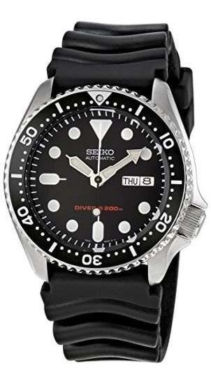 Relógio Seiko Skx007k1 Dive Automatico Black Original Skx007