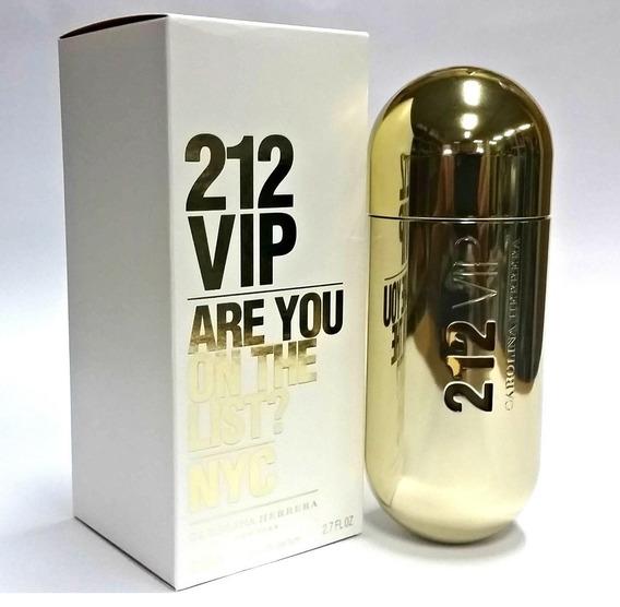 Perfume 212 Vip Carolina Herrera Feminino 80ml 12x S Juros