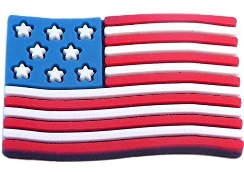 Jibbitz Broche Bandeira American - Crocs