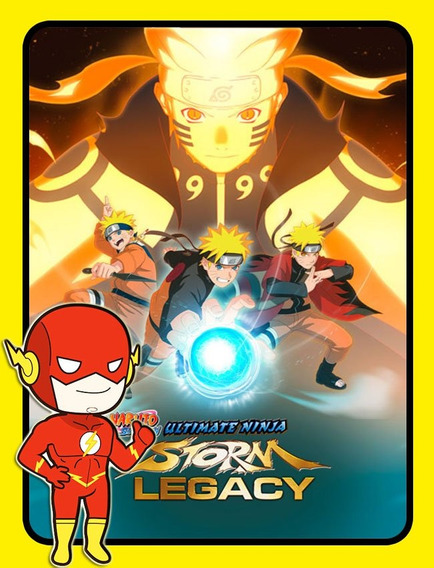 Naruto Shippuden Ninja Storm Legacy Pc - Steam Key (envio Flash)