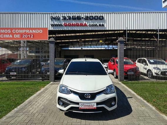 Toyota Etios Platinum 1.5 Flex 16v 2018