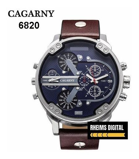 Relógio Masculino Original Cagarny 6820 Quartz Promoção