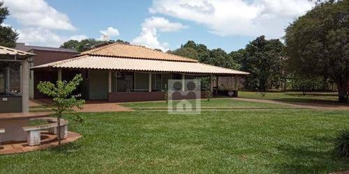Imagem 1 de 6 de Chácara Com 2 Dormitórios À Venda, 5000 M² Por R$ 1.050.000 - Recreio Internacional - Ribeirão Preto/sp - Ch0021