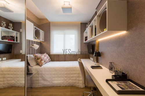 Apartamento Com 3 Dormitórios À Venda, 199 M² Por R$ 2.282.501,97 - Juvevê - Curitiba/pr - Ap2279