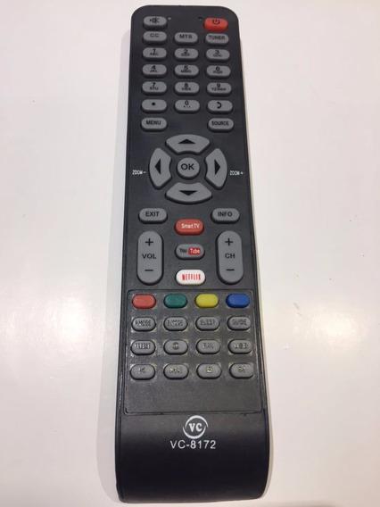 Controle Remoto Smart Tv Led Toshiba Netflix Youtube Novo