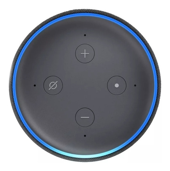 Smart Speaker Amazon Alexa Echo Dot 3 Português/lacrado