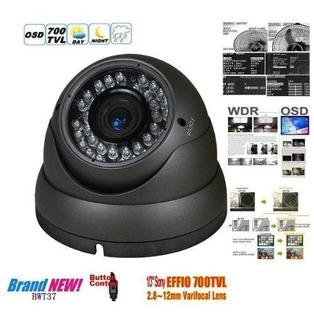 Bwâ® 700tvl 1/3' Sony Ccd De 2.0 Mega Zoom Varifocal C