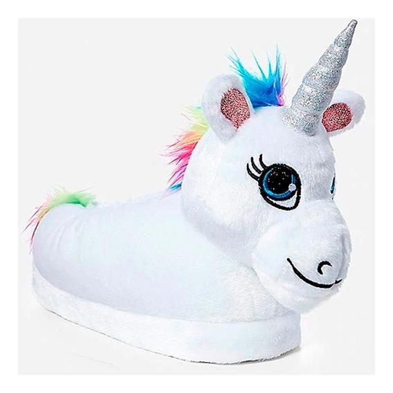 Pantuflas Unicornio !!!! Las Mas Lindas Art 920 Num 28/40