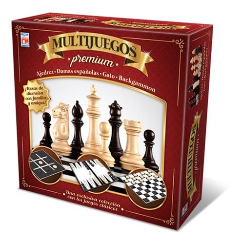 Juego De Mesa Fotorama Multijuegos Premium