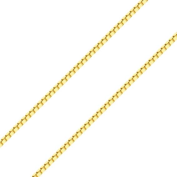 Corrente Gargantilha Ouro 18k 750, 60cm, 1,9g Com Garantia