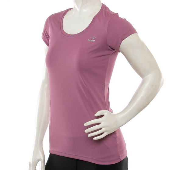Remera Topper Basica Women Mujer Training