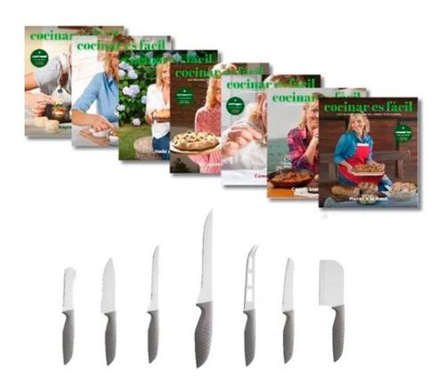 Clarín Colección Cocina Fácil Set 4 De 7 Cuchillos