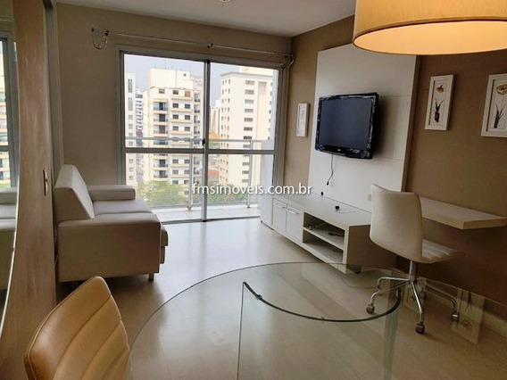 Studio Para Para Alugar Com 1 Quarto 1 Sala 47 M2 No Bairro Moema, São Paulo - Sp - Ap1990f-loc