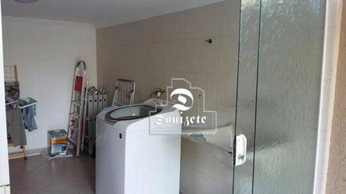 Sobrado Com 3 Dormitórios À Venda, 221 M² Por R$ 795.000,10 - Parque Novo Oratório - Santo André/sp - So2948