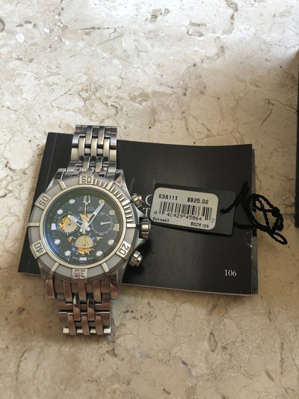 Relógio Bulova Acutron - Safira - Swiss Made - 63a111