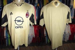 Milan 2004 Terceira Camisa Tamanho G.