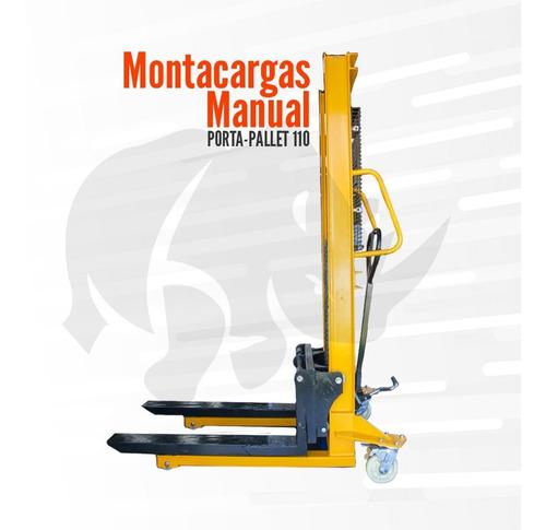 Montacargas Manual Porta Pallet