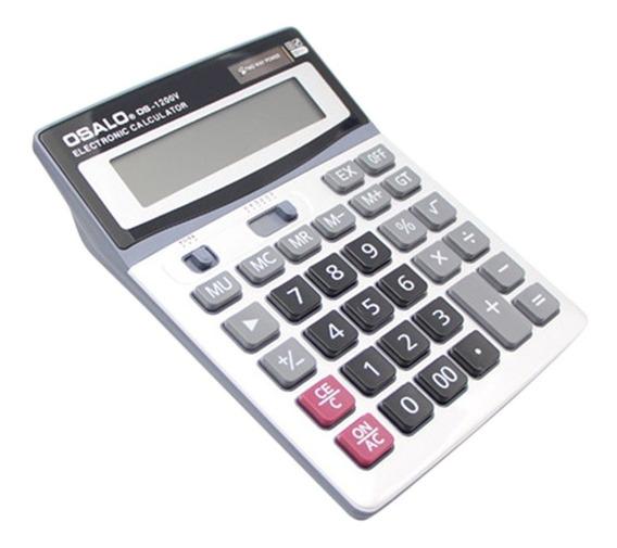 Osalo 1200v 12 Dígitos Multifuncional Calculadora Eletrônica