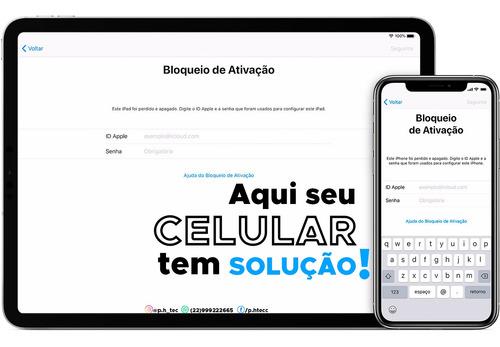 Desbloqueio iPhone 5s/ 6/ 6 Plus/ 7/ 7 Plus/ 8/ 8 Plus/ X