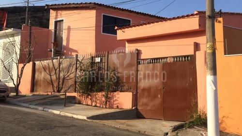 Linda Casa Muito Bem Localizada Região Campo Limpo  - Cf58327