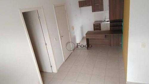Apartamento Com 3 Dormitórios À Venda, 50 M² Por R$ 200.000 - Vila Terron - Sorocaba/sp - Ap1066