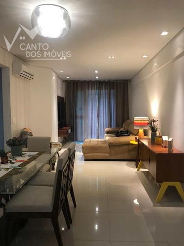 Imagem 1 de 30 de Apartamento Com 3 Dorms, Canto Do Forte, Praia Grande - R$ 790 Mil, Cod: 461 - V461