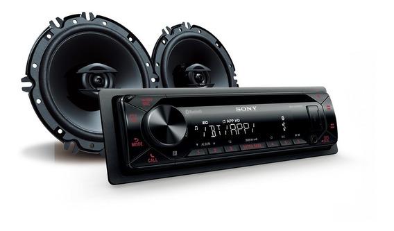 Radio Auto Bluetooth Con Parlantes 16cm (6½) Mxsn4316bt