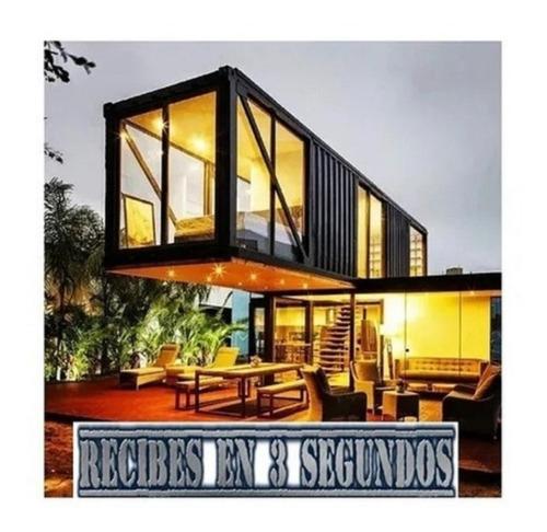 Planos Casa Containers Contenedor Construir Desde **0**