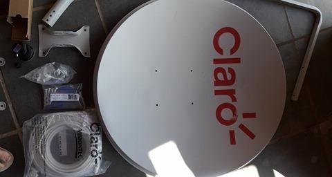 Antena Claro Com Cabo E Lnb Vision 78bdlh