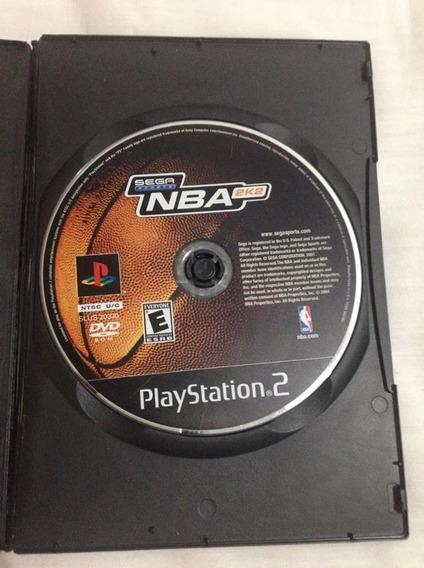 Nba 2k2 Sega Sports Original Playstation 2 Sony Ps2 R$42,98