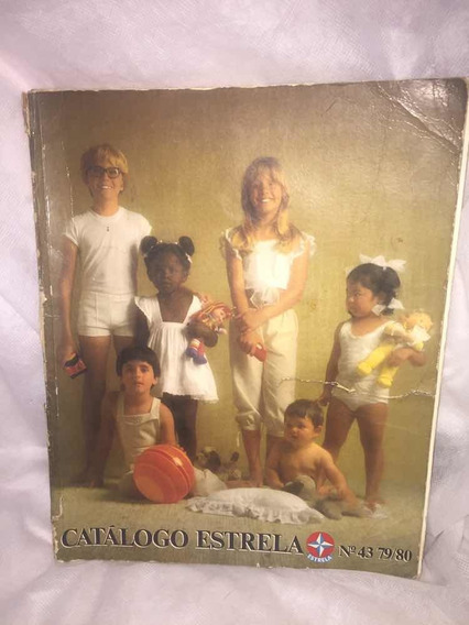 Catálogo Antigo Da Estrela - Original